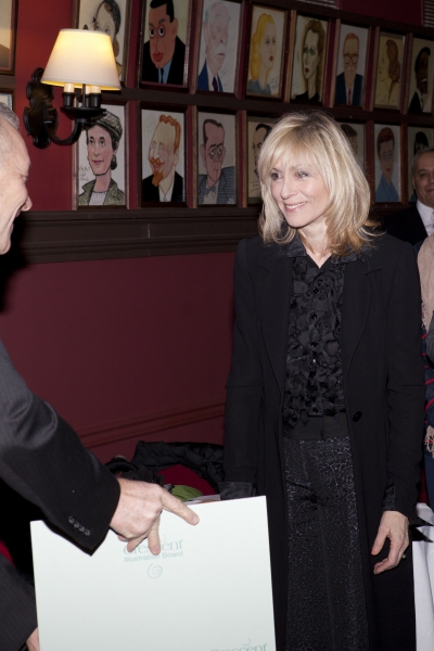 Photo Coverage: Sardi's Honors LOMBARDI's Judith Light with Caricature