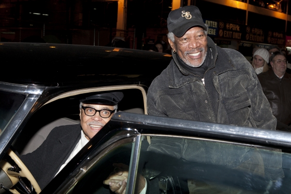James Earl Jones and Morgan Freeman