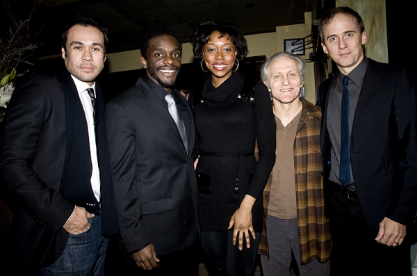 Michael Balderrama, Chris Chalk, Amanda Mason Warren, David Patrick Kelly & Neal Huff