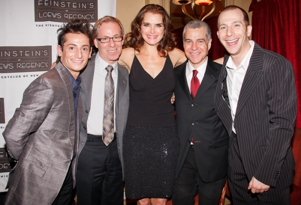 Photo Coverage: Tommy Tune, Raul Esparza Visit Brooke Shields at Feinstein's