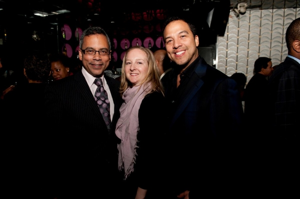 Gregory Stuart, Lauren Gibbs (ii), Eduardo Vilaro at ON EARTH TOGETHER Celebrates Opening