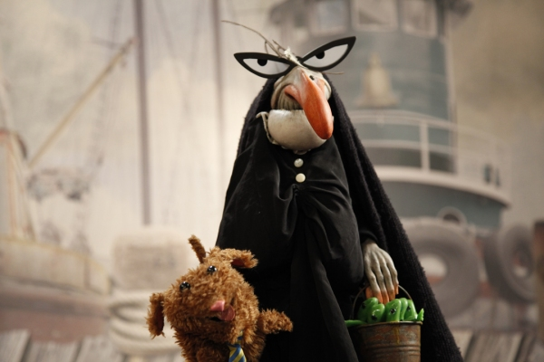 Photo Flash: Behind the Scenes of Puppet Heap's 'I Knew an Old Lady'