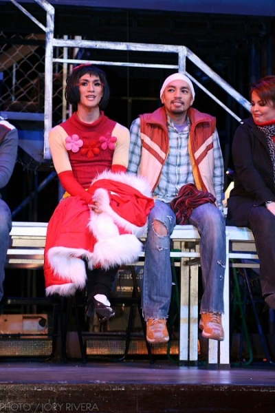 Job Bautista, OJ Mariano at  9 Works Theatrical Revisits Rock Musical RENT, 2/12 to 3/6