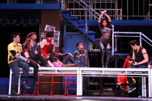 Photo Coverage:  9 Works Theatrical Revisits Rock Musical RENT, 2/12 to 3/6