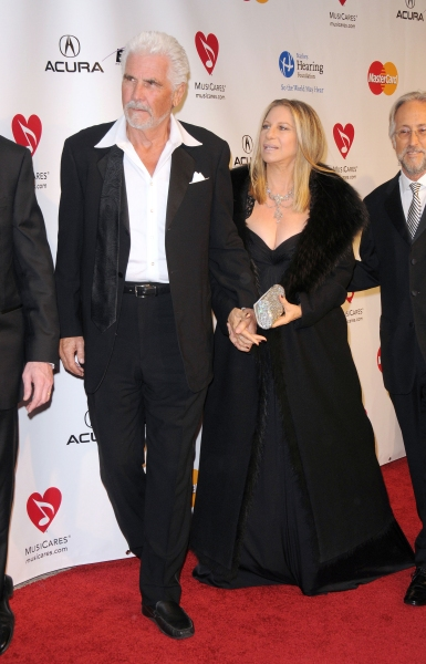 James  Brolin and Barbra Streisand at the 2011 MusiCares Person of the Year Tribute to Barbra Streisand  Los Angeles Convention Center, West Hall, Los Angeles, CA, USA  February 11, 2011  © RD/ Scott Kirkland/ Retna Digital at Barbra Streisand MusiCares Starry Red Carpet!