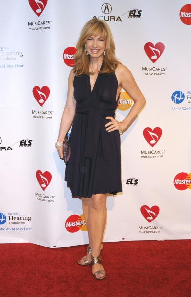 Leeza Gibbons at the 2011 MusiCares Person of the Year Tribute to Barbra Streisand Los Angeles Convention Center, West Hall, Los Angeles, CA, USA February 11, 2011 at Barbra Streisand MusiCares Starry Red Carpet!
