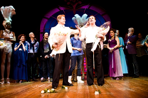 Grammer, Hodge & De Jesus Final LA CAGE AUX FOLLES Farewell