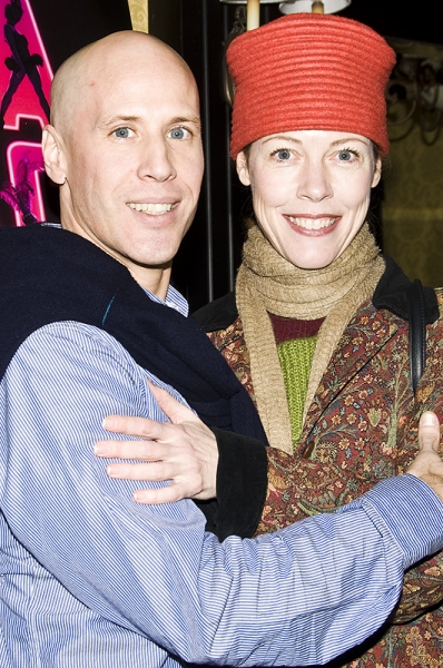 Christophe Caballero & Veanne Cox  Photo