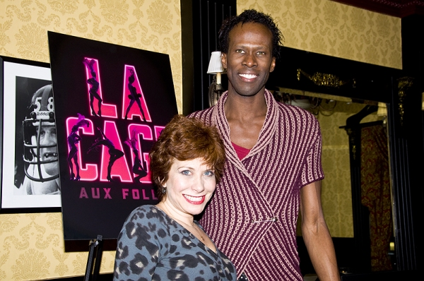 Cheryl Stern & Terry Lavell at Grammer, Hodge & De Jesus Final LA CAGE AUX FOLLES Farewell