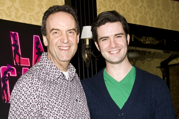 Dale Hensley & Michael Lowney at Grammer, Hodge & De Jesus Final LA CAGE AUX FOLLES Farewell