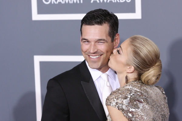 LeAnn Rimes and Eddie Cibrian pictured at The 53rd Annual GRAMMY Awards held at Stapl Photo