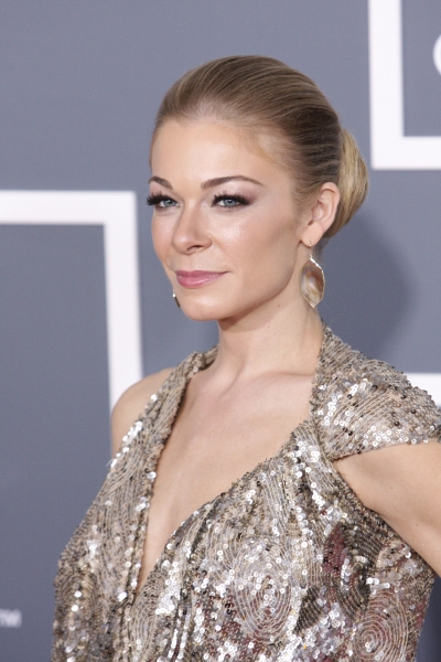 LeAnn Rimes pictured at The 53rd Annual GRAMMY Awards held at Staples Center in Los A Photo