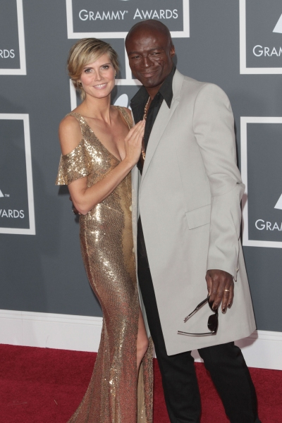 Heidi Klum and Seal pictured at The 53rd Annual GRAMMY Awards held at Staples Center  Photo
