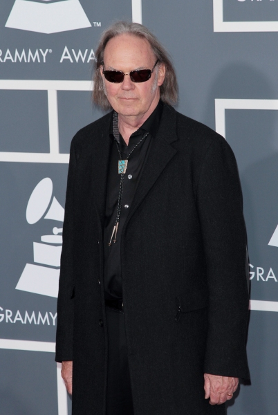 Neil Young pictured at The 53rd Annual GRAMMY Awards held at Staples Center in Los Angeles, California on February 13, 2011.  © RD / Orchon / Retna Digital. at 2011 GRAMMY Awards Star-Filled Red Carpet!