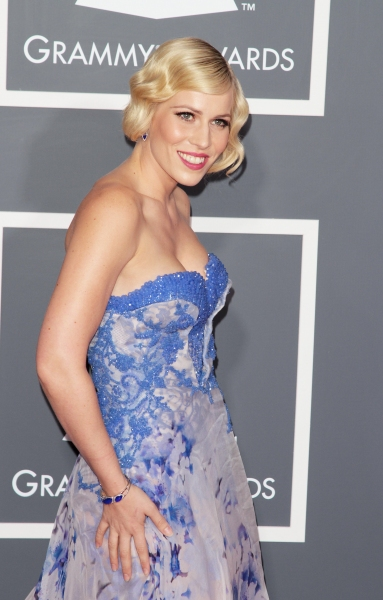 Natasha Bedingfield pictured at The 53rd Annual GRAMMY Awards held at Staples Center in Los Angeles, California on February 13, 2011.  © RD / Orchon / Retna Digital.