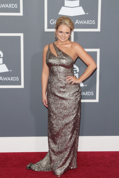 Miranda Lambert pictured at The 53rd Annual GRAMMY Awards held at Staples Center in Los Angeles, California on February 13, 2011.  © RD / Orchon / Retna Digital.
