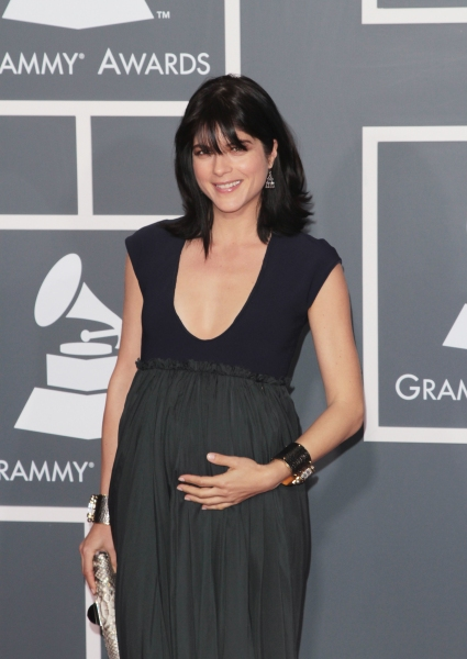 Selma Blair pictured at The 53rd Annual GRAMMY Awards held at Staples Center in Los A Photo