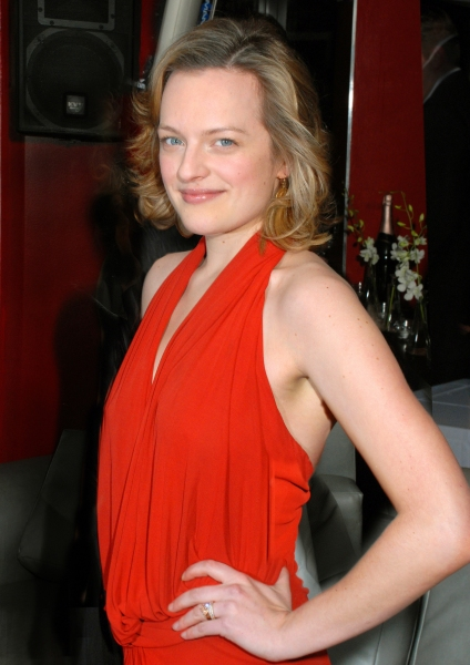 ELISABETH MOSS at CHILDREN'S HOUR Celebrates Opening Night