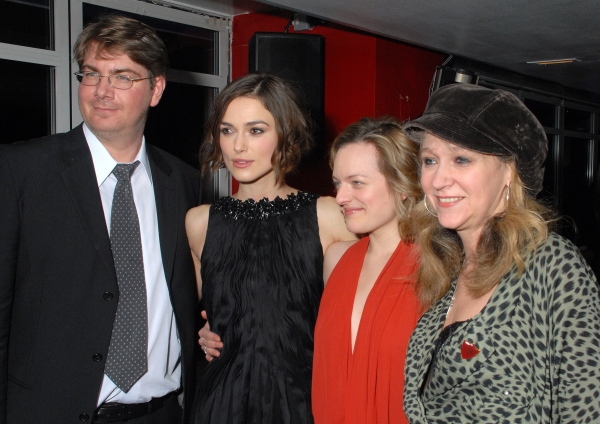 Scott Landis, Keira Knightley, Elisabeth Moss, Sonia Friedman