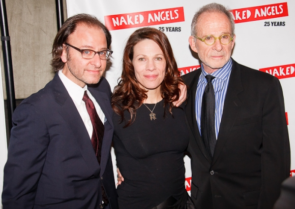 Fisher Stevens, Lili Taylor and Ron Rifkin at Naked Angels' 25th Anniversary Gala