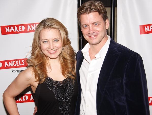 Jennifer Mudge and Chris Henry Coffey at Naked Angels' 25th Anniversary Gala