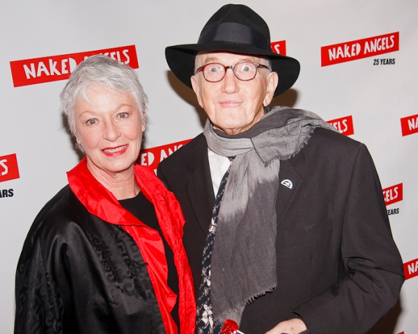 Jane Alexander and Edwin Sherin