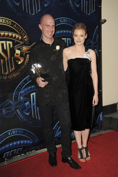 Marc Windon, Gillian Jacobs  at the American Society of Cinematographers 25th Annual  Photo