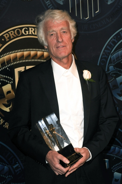Roger Deakins at the American Society of Cinematographers 25th Annual Outstanding Achievement Awards at the Grand Ballroom at Hollywood and Highland in Hollywood, California on February 13, 2011  © RD / Kenney / Retna Digital