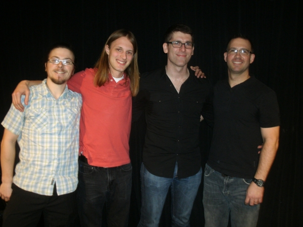 Jody Shelton (Musical Director/Piano), Kevin Florian (Guitar), Chris Ditton (Bass) and Douglas Levine (Drums)