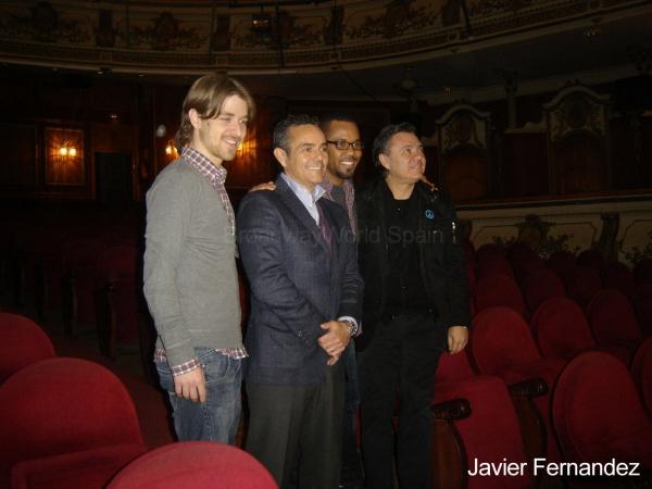 Rafa Bueso, Roger Peña, Joan Lluís Goas y Chipper