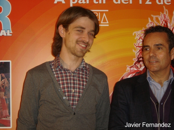 Rafa Bueso y Roger Peña