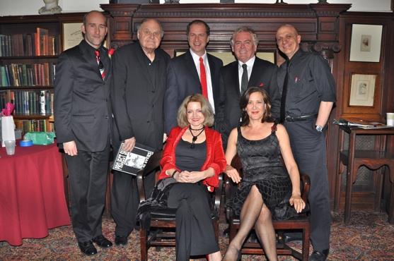 Jonathan Monro, George S. Irving, Daniel Jenkins, Daniel Davis, Tom Viola, Alison Fra Photo