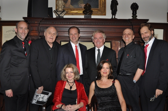 Jonathan Monro, George S. Irving, Daniel Jenkins, Daniel Davis, Tom Viola, Alison Fraser and Karen Ziemba are joined with Producer, Editor and Director David Staller