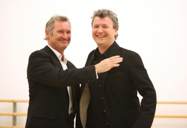 Garry McQuinn & Simon Phillips attend the 'Priscilla Queen Of The Desert' Meet & Gree Photo
