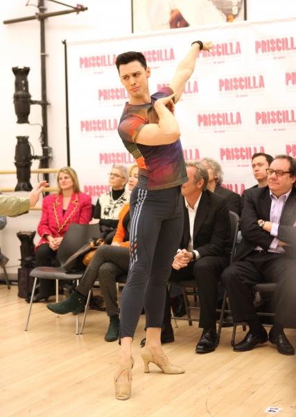 Steve Schepis attends the 'Priscilla Queen Of The Desert' Meet & Greet the Cast & Cre Photo