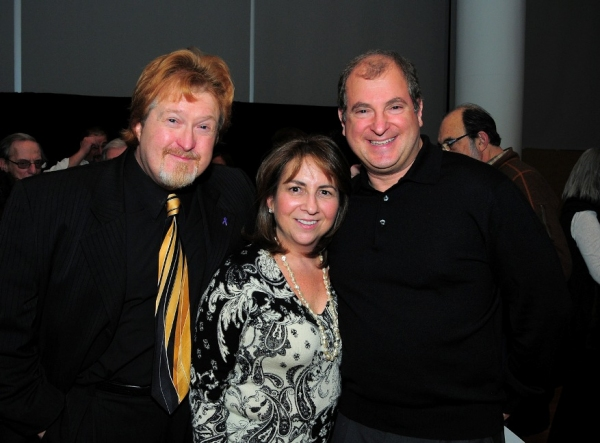 Michael Bollinger (SOPAC Executive Director), Susan Lieberman (Vice-Chair of SOPAC Board of Governors), Mitchell Lieberman