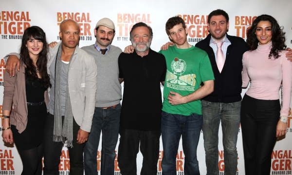 Sheila Vand, Glenn Davis, Arian Moayed, Robin Williams, Brad Fleischer, Hrach Titizian and Necar Zadegan