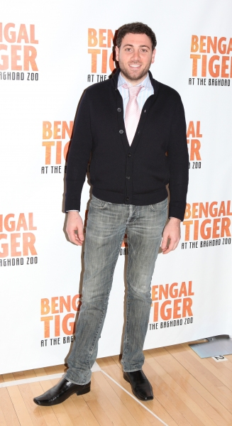 Hrach Titizian attends the 'Bengal Tiger at The Baghdad Zoo' Meet & Greet during Rehearsals at The New 42nd Street Studios in New York City.