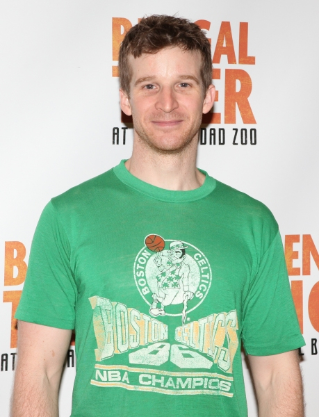 Brad Fleischer attends the 'Bengal Tiger at The Baghdad Zoo' Meet & Greet during Rehearsals at The New 42nd Street Studios in New York City.