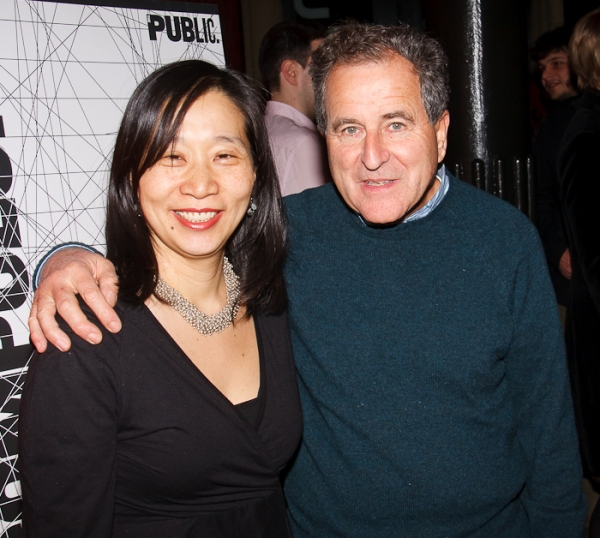 Diana Son and Nick Kent