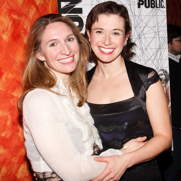 Rinne Groff and Hannah Cabell