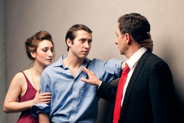 Olivia Rorick as Ruth, MacLeod Andrews as Eli and William Green