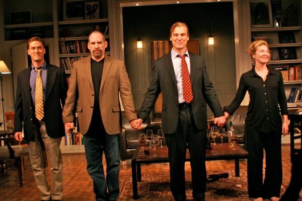 Scott Drummond, Daniel Oreskes, Michael T. Weiss, Donna Bullock Photo