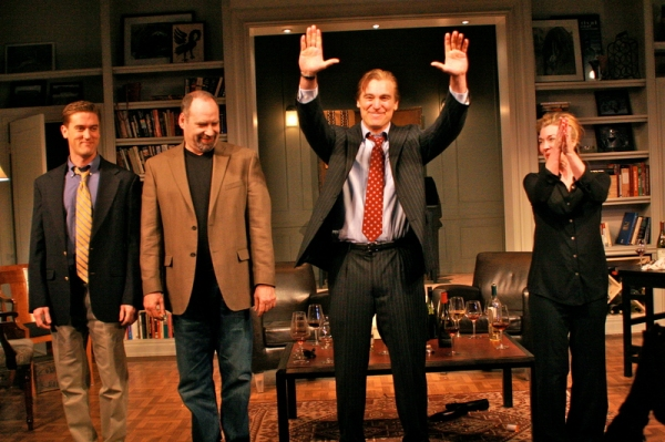 Photo Flash: A PERFECT FUTURE Opens at Cherry Lane Theatre