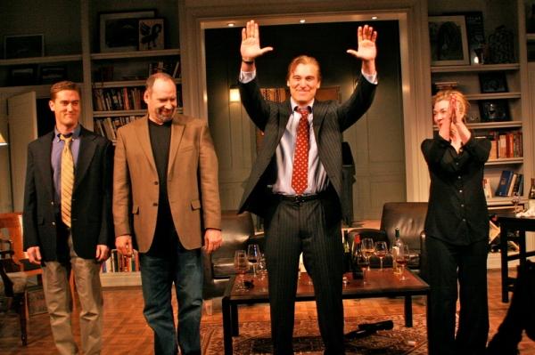 Scott Drummond, Dan Oreskes, Michael T. Weiss, Donna Bullock Photo