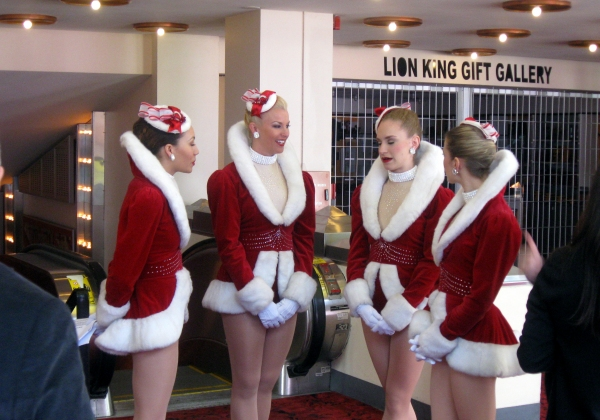 The Rockettes at DPAC's 2011-2012 'WOW, What A Season!' Announcement