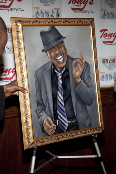 Photo Coverage: Ben Vereen Plays Town Hall & Celebrates Portrait Unveiling at Tony di Napoli's