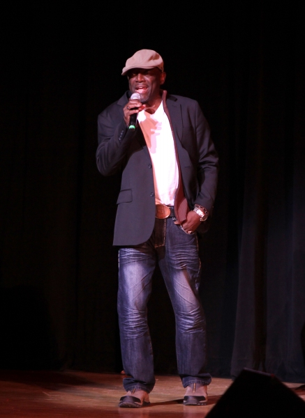Hinton Battle performing at The Best of Jim Caruso's Cast Party, a Benefit for BC/EFA at Town Hall in New York City.