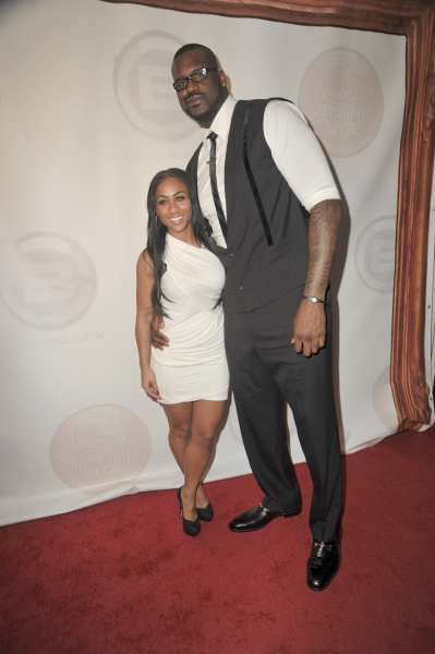 Hoopz, Shaquille O'Neal at Khloe Kardashian and Lamar Odom Host All-Star Weekend Event