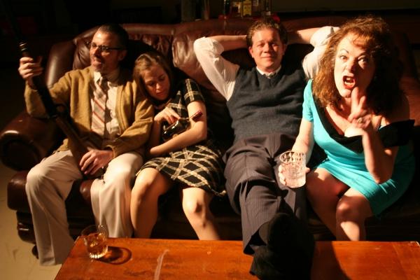 Richard B. Watson, Betty-Jane Parks, Matt Huffman and Christine Decker